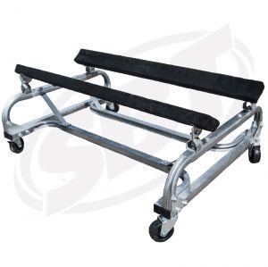 "PWC Shop Cart - 19"" High, Galvanized"
