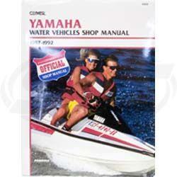 Yamaha 1987-1992 Clymers Manual