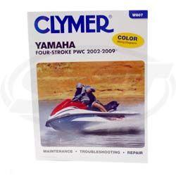 Yamaha 4-takt Clymers Manual
