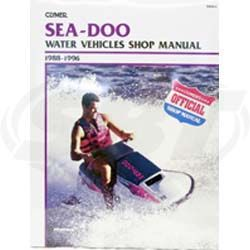 Sea-Doo 1988-1996 Clymers Manual