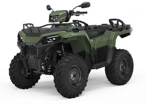 Polaris Sportsman 570 EPS SP Terräng Titanium Metallic 2022