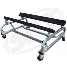 PWC Shop Cart - 19 High, Galvanized