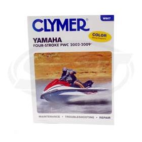 Yamaha 4-takt Clymers Manual