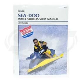 Sea-Doo 1997-2001 Clymers Manual