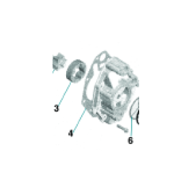 Fig 4 - Sea-Doo Oljepumps packning