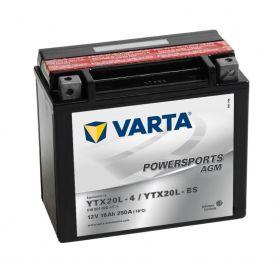 Varta batteri 12v 18Ah YTX20L-BS