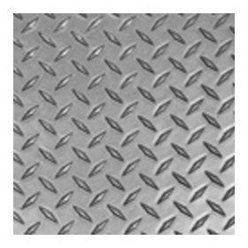 Gray Diamond Plate